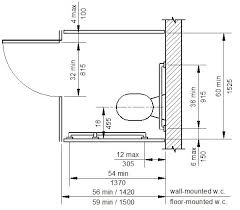 Handicap Bathroom Stall Dimensions Set