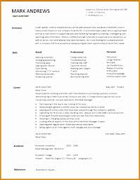 sales assistant cv example 6 cv sales retail besttemplates besttemplates