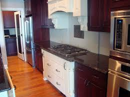 hardwood floor and light hardwood flooring dark cabinet kitchen countertop granite darker cabinets dual colored galley