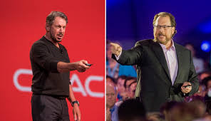 Oracle's Larry Ellison Takes a Jab at Salesforce CEO Marc Benioff | Fortune