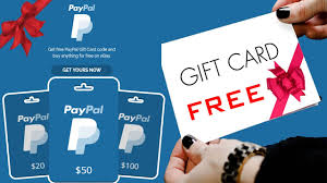 free paypal gift card code