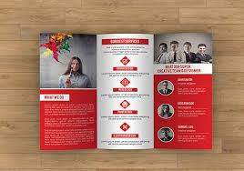 Tri Fold Brochure Specs 17 Awsome Brochure Sizes And Psd Design Examples Free