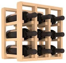 wine racks america pine 9 bottle countertop wine rack contemporary wine racks by wine racks america