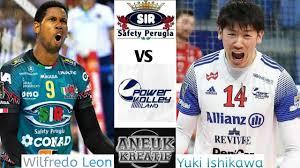 Best Moment | Perugia VS Milano | Wilfredo Leon VS Yuki Ishikawa |  Highlights Superlega 2021 - YouTube