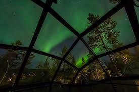 Glass Igloo Northern Lights Kakslauttanen Arctic Resort Official Website