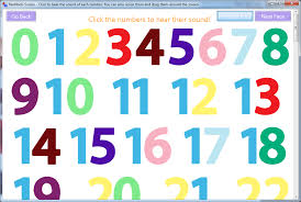 Letters By Number Sound Of Letters And Numbers In English Click Or Type To Hear The