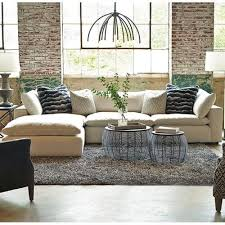 Huntington House Xavier Sectional Sofa Group with Track Arms and