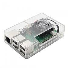 Buy Raspberry Pi 3 Transparent <b>Case ABS</b> For RPI 3/3+ w/ Fan Slot