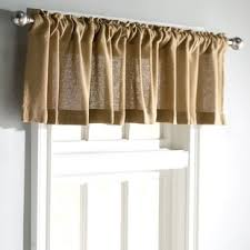 Curtain valence ideas French Country Roxane Burlap Natural Curtain Valance Joss Main Valances Kitchen Curtains Joss Main