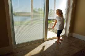 The ODL Sliding Patio Door With Blinds Between The Glass With Unique