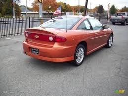 2005 Sunburst Orange Metallic Chevrolet Cavalier LS Sport Coupe ...