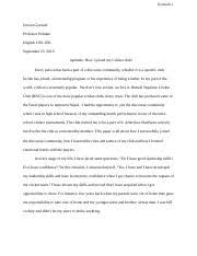 suggestion for ulysses s essay discourse community analysis peer 4 pages every person has been a part of a discourse community 2