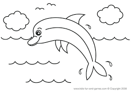 Coloring Pages Of Dolphins Printable Navenbyarchaeologygrouporg