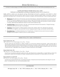 Home Health Ca Home Health Care Resume Simple Resume Objective