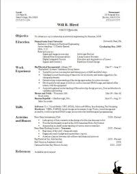 Build A Resume For Free Sample Resume