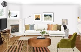 Be Your Own Interior Designer Eclectic Bohemian Global Living Room Design By Havenly