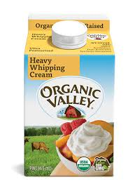 pint heavy whipping cream ultra pasteurized pint