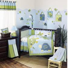 monster crib bedding image