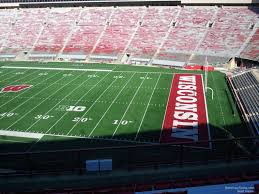 Wisconsin Camp Randall Seating Chart Camp Randall Stadium Section Cc Rateyourseats Com