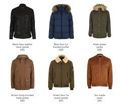 mens outerwear from river island