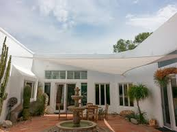 fabric patio shades. Fine Patio Courtyard Shade Sail Indian Wells CA 92210 With Fabric Patio Shades A