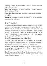 Verykool i601 Manual del usuario ...