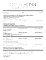Cool Resume Formats Nice Example Fun Clever Good Format For Mca