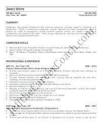 Resume For Administrative Position Impressive Administrative Assistant Sample Resume With No Experience System