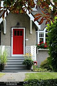 best paint for door red front door white trim black accent stucco siding traditional home paint best paint for door