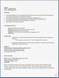 Best Resume Sample For Freshers Ideas Of Achievements In Your