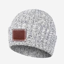 love your melon cuffed hat. Contemporary Your Navy Speckled Leather Patched Cuffed Beanie  On Love Your Melon Hat