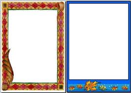 free printable borders teachers free autumn page border printables printable border free