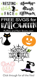 Svg cut files are a graphic type that can be scaled to use with the silhouette cameo or cricut. Free Halloween Svg And Cut Files For Digital Crafts