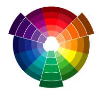 The following are examples of Triadic Color Schemes.