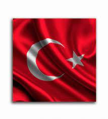 Dalgalanan Türk Bayrağı Tablo