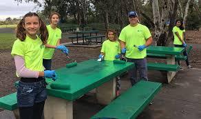 helix helps at la mesa park appreciation day