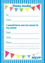 Print Birthday Invitation Birthday Invitations Printable