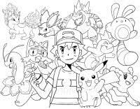 Pokemon Nero E Bianco Da Colorare Diplomi Da Personalizzare E