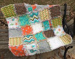 Fishing quilt kit | Etsy & Fish rag quilt kit - fishing quilt kit - ocean quilt kit - baby rag quilt Adamdwight.com