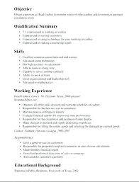 Cashier Job Resume Sample Restaurant Cashier Resume Cashier Resume