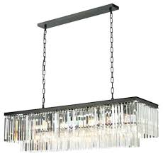 odeon glass fringe rectangular chandelier unique rectangle chandelier lighting glass fringe rectangular chandelier retro odeon glass