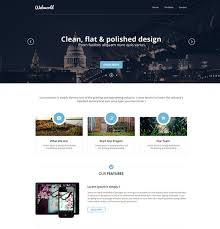 12 Free Modern Psd Website Templates Web Graphic Design Bashooka