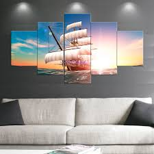 boat sail paintings wall art giclee canvas prints landscape pictures paintings on canvas stretched and framed on boat canvas wall art with landscape paintings cheap oil paintings paintings for sale wall