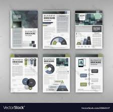 Advertising Charts And Graphs Brochure Template With Charts And Graphs