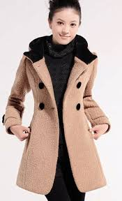 slim hooded winter coats style winter jackets for girls