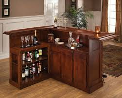 home bar cabinet. Contemporary Home This Cherry Lshaped Home Bar Is Fairly Large For A Cabinet You Can Inside Home Bar Cabinet