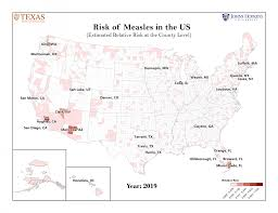 This Map Shows The 25 U S Counties Most At Risk For Measles