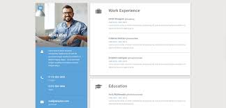 Material Premium Responsive Cv Resume Html5 Template