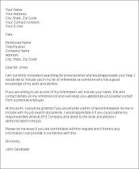 Sample Request For Letter Of Recommendation For Graduate School How