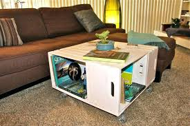 shadow box side table shadow box side table painted crate coffee tables for in glass